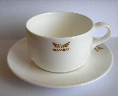 Royal Doulton National Air Bone China Cup & Saucer (Defunct American Airline)??