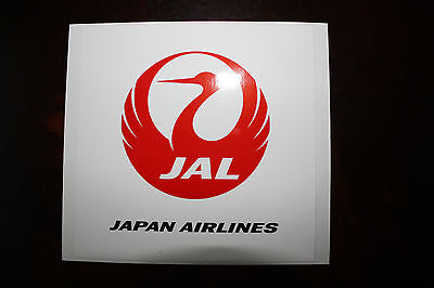 Official Airline Sticker Jal Japan Airlines