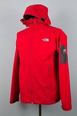 Mens The North Face Valkyrie Softshell Hooded Summit Series Jacket Coat Size L