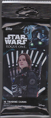 Hot Pack! 2016 Topps Star Wars Rogue One Series 1 Medallion Hot Pack!