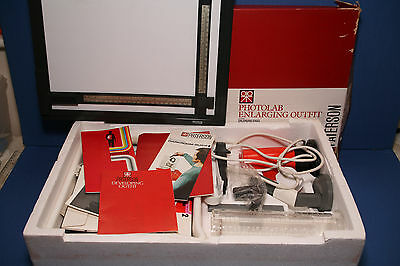 Paterson Photolab darkroom set complete and boxed