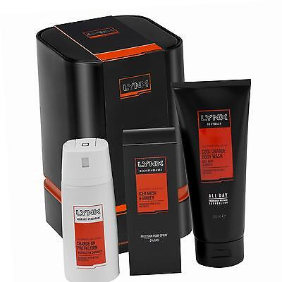 Lynx Trio Edition Adrenaline Mens Gift Set