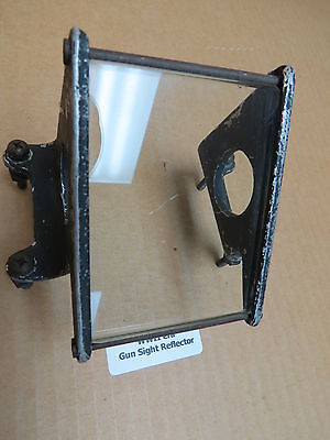 WWII era Original Warbird Aircraft Gun Sight Reflector Assembly 38A2197