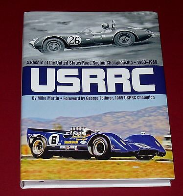USRRC A RECORD OF THE CHAMPIONSHIP 1963-1968 by Mike Martin * SIGNED * New