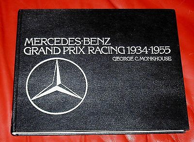 MERCEDES-BENZ GRAND PRIX RACING 1934-55 by Monkhouse * LEATHER-BOUND *
