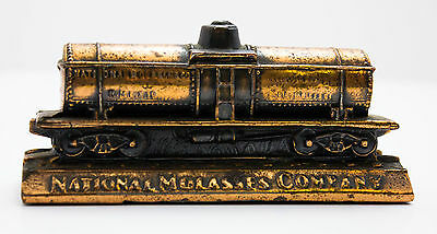 Vintage National Molasses Company Train Paper Weight