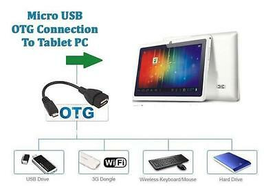 Brand New OTG USB 2.0 Transfer Cables Micro USB HTC SAMSUNG SONY PS3 Controller