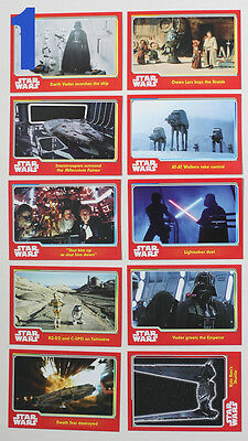Star Wars Journey to The Force Awakens 10 Card Sets