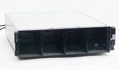 DELL EQUALOGIC PS4000 16-BAY ISCSI SAN STORAGE ARRAY w/2*CONTROL MODULE 8 2*PSU