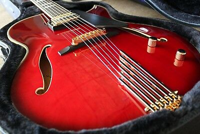 Cont Heirloom Archtop Jazz Guitar - Solid Spruce Top, Solid Maple Back/Sides