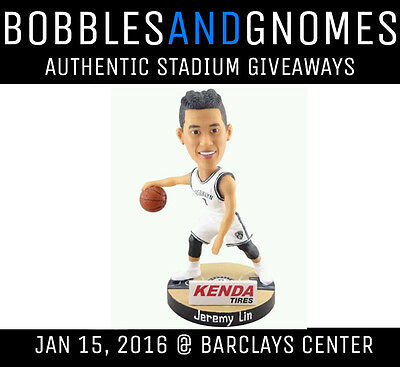 JEREMY LIN Brooklyn Nets SGA Bobblehead 1/15/17 Barclay Center 2017 IN STOCK NIB