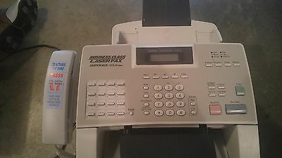 Brother 4100E Business Class Laser  Fax Super G3/33.6 with Spare Drum & Toner