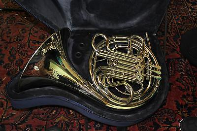 Hans Hoyer Model 7801NS Heritage Professional Double French Horn DISPLAY MODEL Q