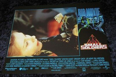 SMALL SOLDIERS lobby cards KIRSTEN DUNST, JAH MOHR, TOY SOLDIERS