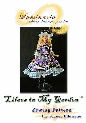 """PATTERN"""" Lilacs in My Garden"""" Outfit, Dress, Clothes, for Tonner Ellowyne Wilde"""