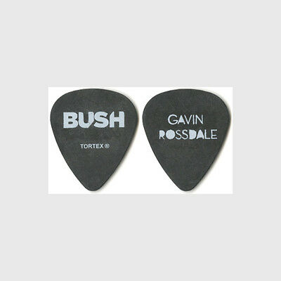 Bush Gavin Rossdale authentic 2012 tour Guitar Pick