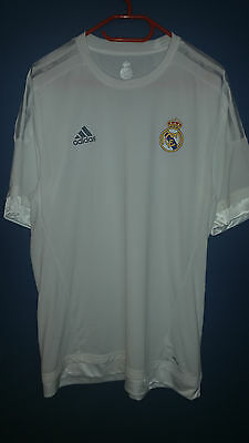 Real Madrid player match issue plain shirt size D10 Adizero - s61