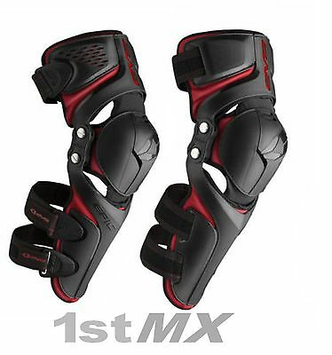 NEW EVS Epic Motocross Enduro Knee Guards Adult Large XLarge