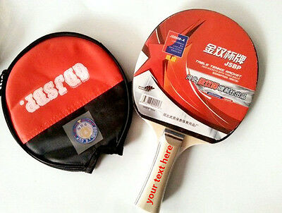 Personalised TABLE TENNIS PING PONG SET INCLUDES 3 BALLS TWO PADDLE BATS GAME