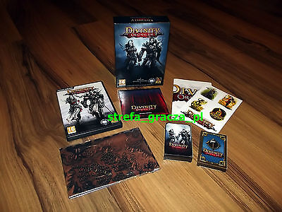 Divinity Original Sin Limited Collector's Edition PC - NEW - RARE! NO GAME !