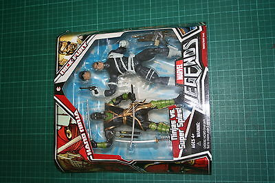 Marvel Legends Twin Pack Nick Fury Ninja Ronin Variant Shield Super Spies Rare