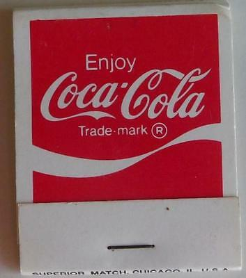 1982 Enjoy Coca Cola, Full Match Book. Seattle Worlds Fair