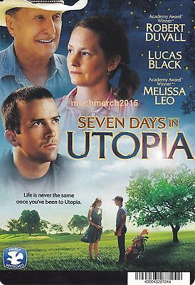 """SEVEN DAYS IN UTOPIA Movie Placard from Video Rental Store 5.5"""" x 8"""""""