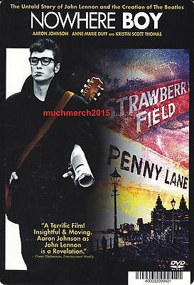 """NOWHERE BOY Movie Placard from Video Rental Store 5.5"""" x 8"""""""