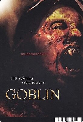 """GOBLIN Movie Placard from Video Rental Store 5.5"""" x 8"""""""