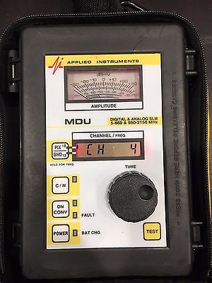 Applied Electronics MDU 2020 Digital and Analog Satellite and Air/Cable SLM USED