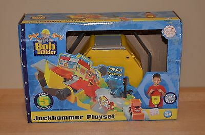 Bob the Builder Take Along Jackhammer Playset Learning Curve 65150 Toy Roadway