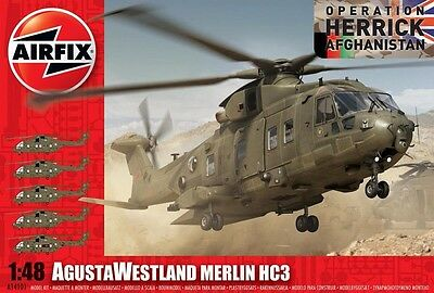 Airfix A14101 1:48 Agusta Westland Merlin Hc3 Helicopter New & Sealed