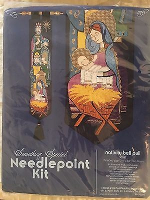 Something Special Needlepoint Kit Nativity Bell Pull NEW SEALED