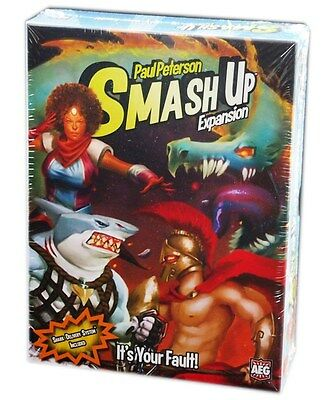 AEG Games, Smash Up, It's Your Fault Expansion, New and sealed