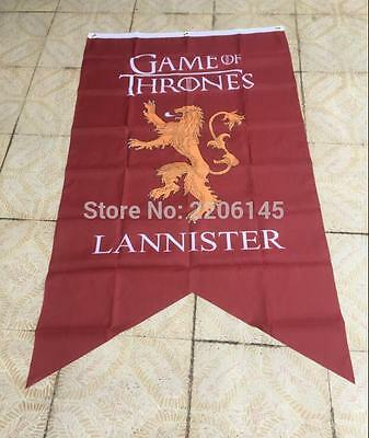 3X5ft Game of Thrones Winter Comes lannister Family Banner Flag 90X150CM