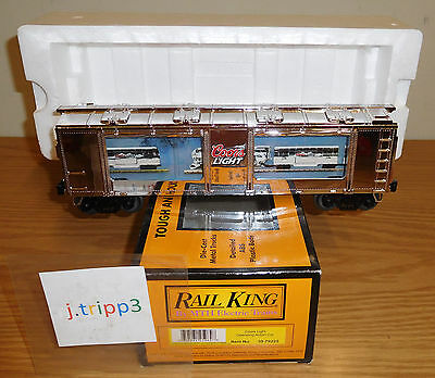 Mth 30-79225 Coors Light Beer Operating Action Car O Gauge Toy Train Rail-King