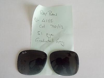 Genuine Rayban Lenses. Replacement RB4165