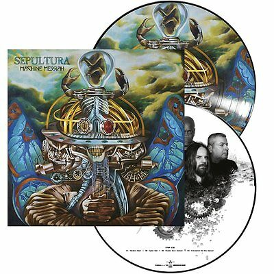 Sepultura 'Machine Messiah'Picture Disc Vinyl LP Record (Sealed) Pre Order: 13/1