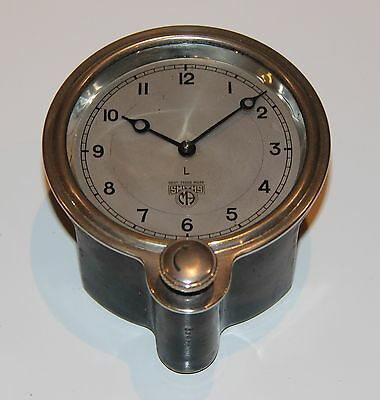 VINTAGE SMITHS CAR CLOCK Front wind. Working