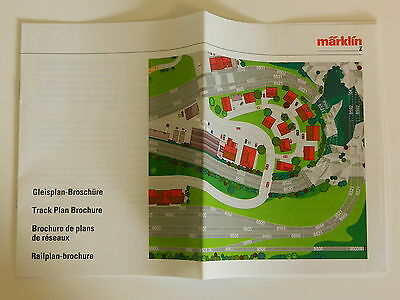 Marklin Z gauge track plan booklet, new and unused.