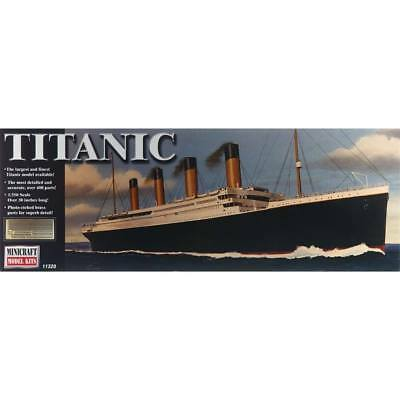 NEW Minicraft 1/350 RMS Titanic Deluxe w/Photo-Etched Parts 11320