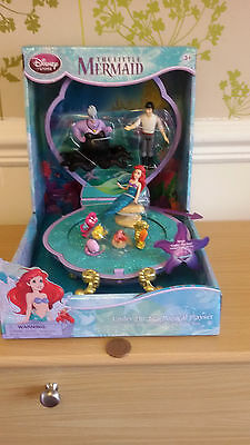 Ariel The Little Mermaid Under The Sea  Large Musical Playset  Disney Store New
