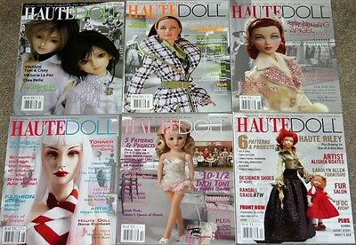 Haute Doll Magazine Lot of 6 from 2005