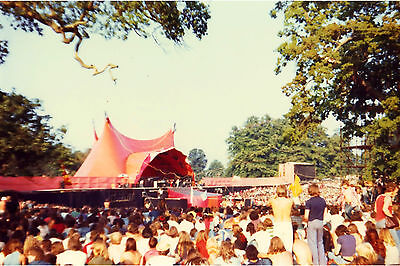 The Rolling Stones at the Knebworth Fair, 1976 - RARE 6x4 postcard