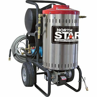 NorthStar Electric Wet Steam & Hot Water Pressure Washer- 2000 PSI 1.5 GPM 120V