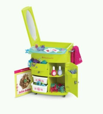 American Girl Salon Center for Doll Style Center & Hair Accessories New Green