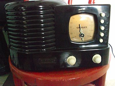 Crosley Vintage  Limited Edition Cr-1  Am/fm Radio With Casette