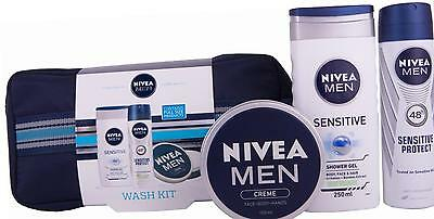 Nivea Men Wash Kit Gift Set - 3-Piece