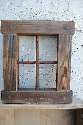 "Window - wood - iron ""A"""