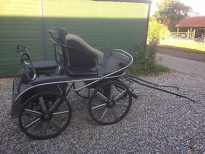 Renne Schoop Four wheel horse carriage for pleasure or competition driving